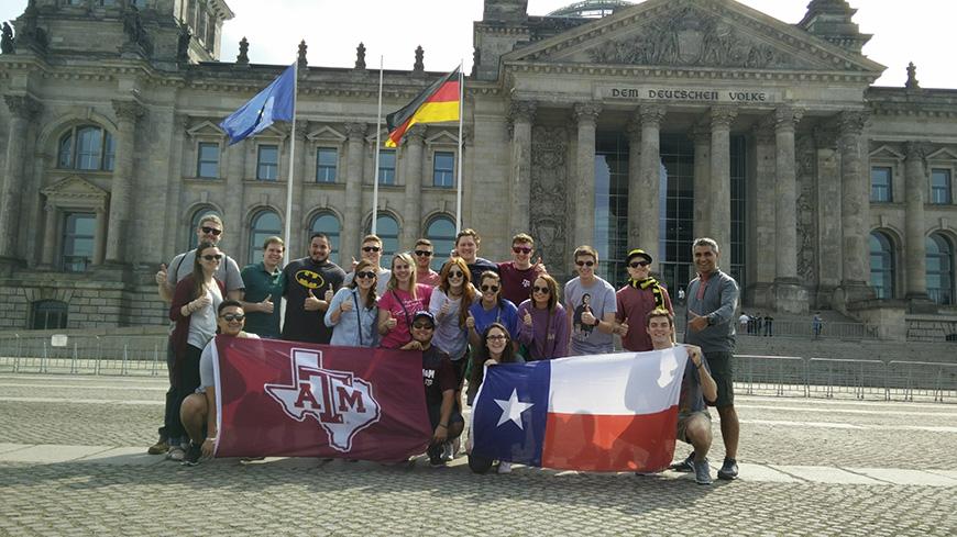 Industrial Distribution program's Scotland, Germany study abroad