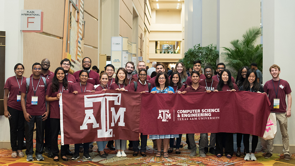TAMU Students at Tapia 2018