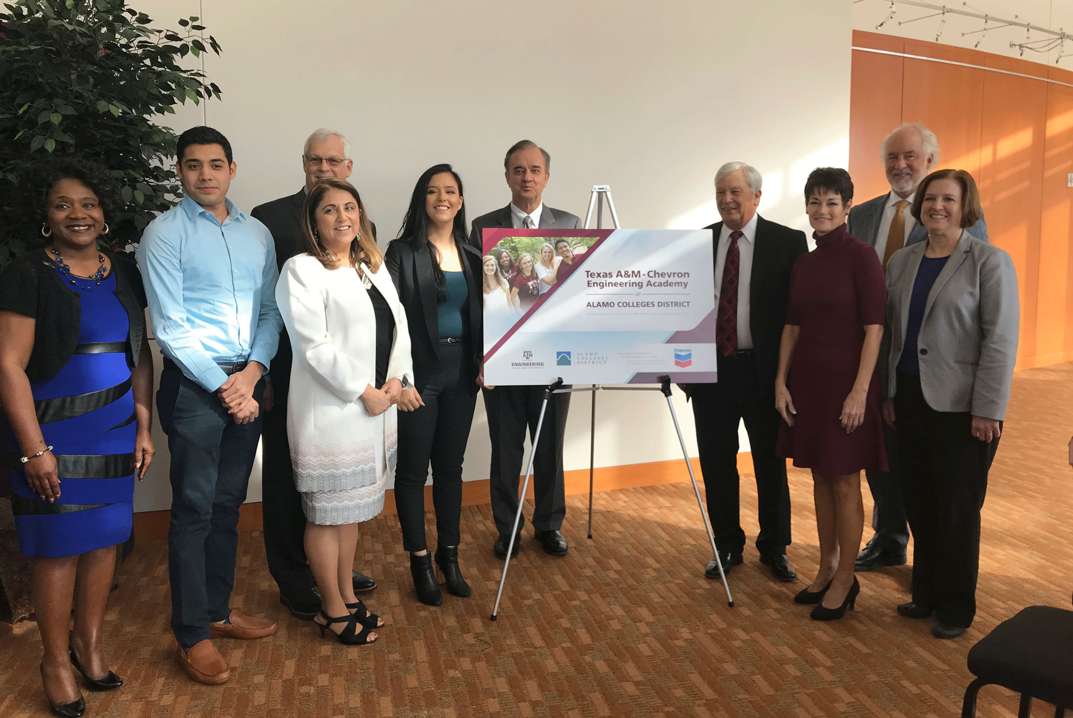 Texas A M Engineering And Alamo Colleges District Co Enrollment Program To Begin Offering Classes Fall 2018 Texas A M University Engineering