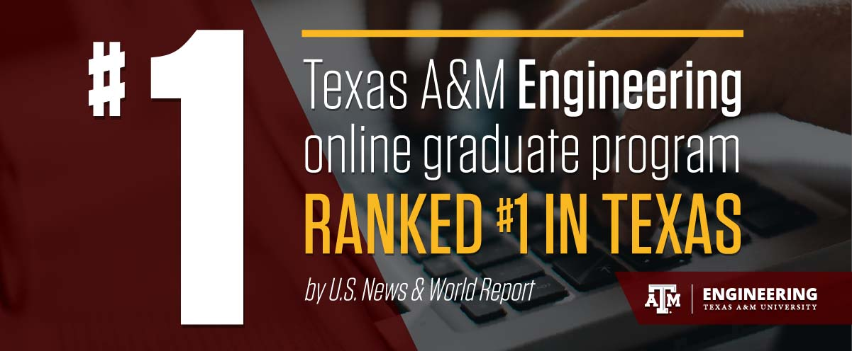 Texas A Amp M Top Ranked In Texas For Online Graduate