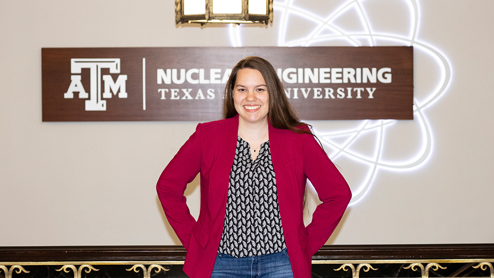 Powering Humanity S First Mars Colony Smith Researches Nuclear Space Reactors Texas A M University Engineering
