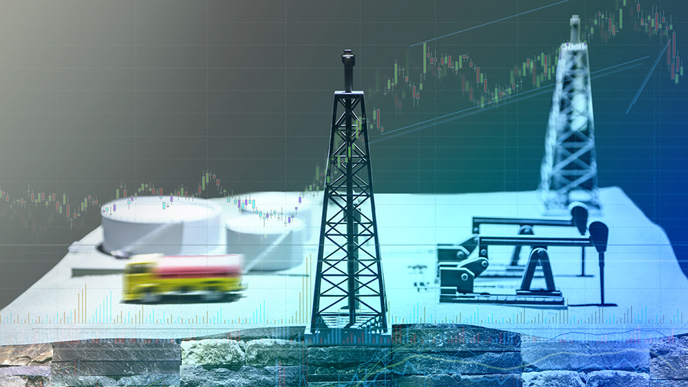 Shale gas pipeline and stock market tracker