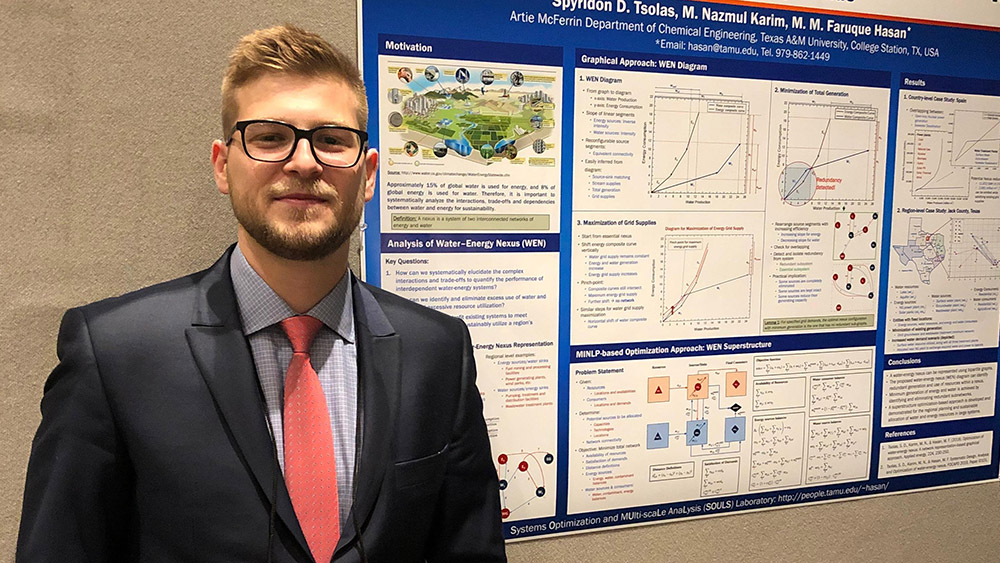 Ph D Student Wins Best Poster Award At International Conference Texas A M University Engineering