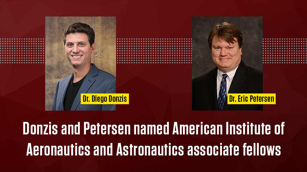 Two Texas A&M Engineering faculty named American Institute of Aeronautics and Astronautics associate fellows.