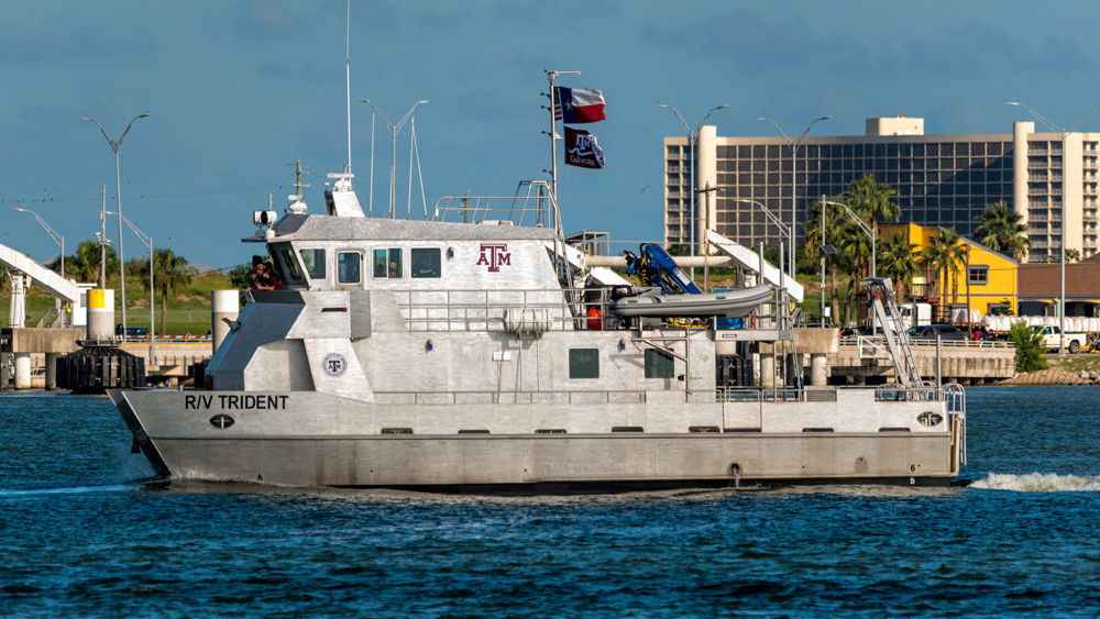 The R/V Trident boat